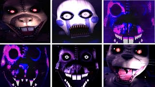 Five Nights at Candy's 3 ALL JUMPSCARES