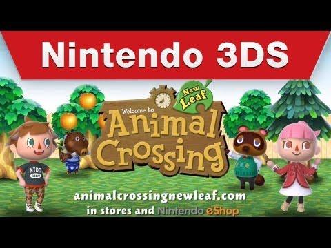 Видео № 1 из игры Animal Crossing: New Leaf - Welcome Amiibo (Б/У) [3DS]