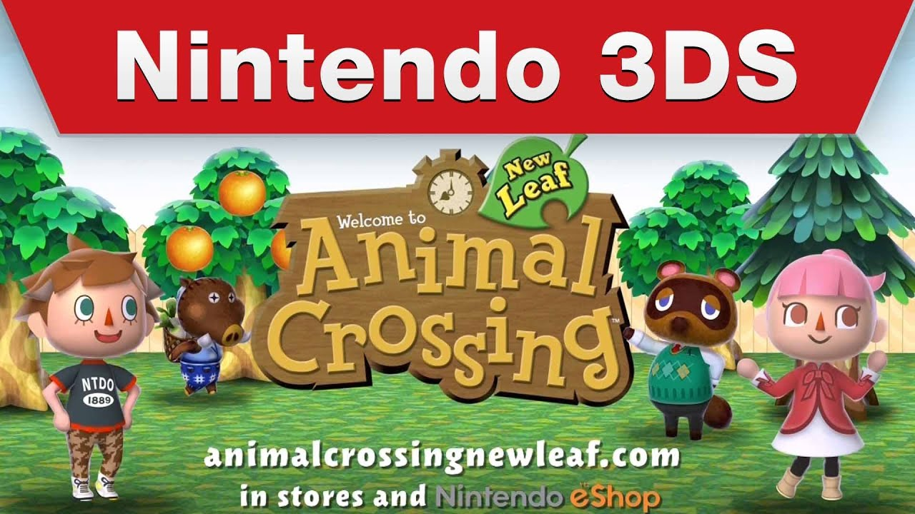 Watch The New Trailer For Animal Crossing: New Leaf