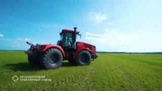 Трактор в Крыму колесный Кировец серии К-7 мощностью 300-428 л. с. от компании Компания Триа - видео