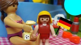 EM 2016 Playmobil Film Deutsch PublicViewing Und Spaß Im Aquapark♡
