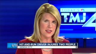 Genoa City Police looking for driver who hit 2 pedestrians after Country Thunder concert