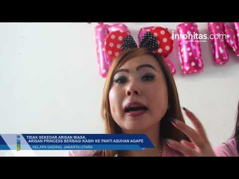 Arisan Princess Berbagi Kasih ke Panti Asuhan Agape Kelapa Gading