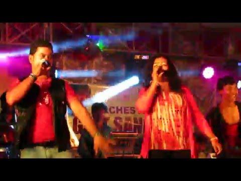 Odia Melody Cuttack Durga Puja Dussehra 2015 !!! Hot Dance Sexy Record Dance Stage !!! Daru peeke