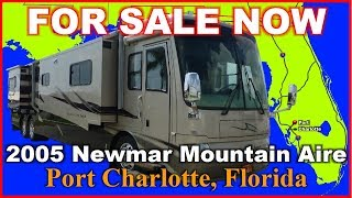 2005 Newmar Mountain Aire 4304 Used Class A Diesel Motorhome, Florida, Punta Gorda, Fort Myers