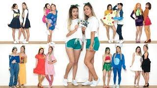 10 DIY COUPLES BEST FRIEND HALLOWEEN COSTUME IDEAS! *LAST MINUTE*