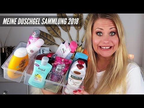DUSCHGEL SAMMLUNG 2018! Was ist HOT und was ist Schrott😜?