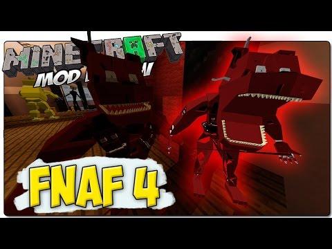 MINECRAFT MOD FIVE NIGHTS AT FREDDY'S 1, 2, 3 y 4 MOD 1.7.10   FREDBEAR