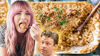 Can I Make Jamie Oliver's ULTIMATE MAC AND CHEESE Vegan?! (This is a must watch)