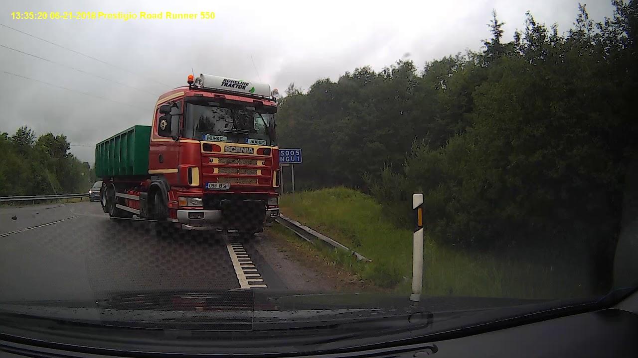 Отличные тормоза у грузовика