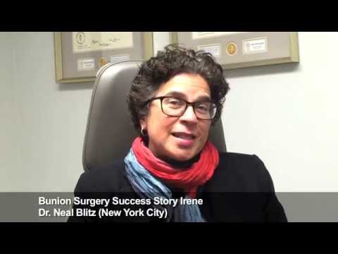Irene: Bunion Surgery