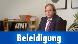 preview picture of video 'Beleidigung im Straßenverkehr, Anwalt Dr. Hartmann aus Oranienburg berät'