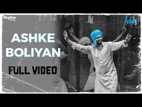 Download Ashke Boliyan | Gurshabad | Raj Ranjodh | Jatinder Shah | Rhythm Boyz HD Mp4 3GP Video and MP3