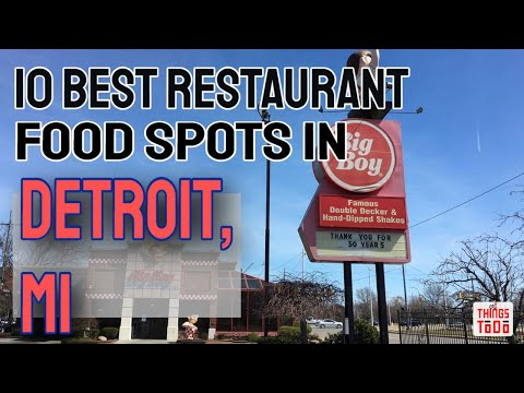 10 Things To Do in Detroit, MI [#6 IS A MUST]