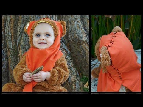 Ewok Costume How to | EASY DIY - Whitney Sews