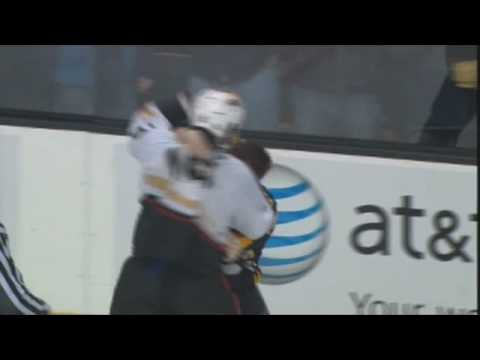 George Parros vs Shawn Thornton