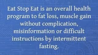EAT WELL KEEP FIT