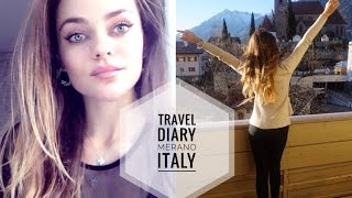 Travel Diary | VLOG! Выходные в горах | Моя Косметика #Eskinyana