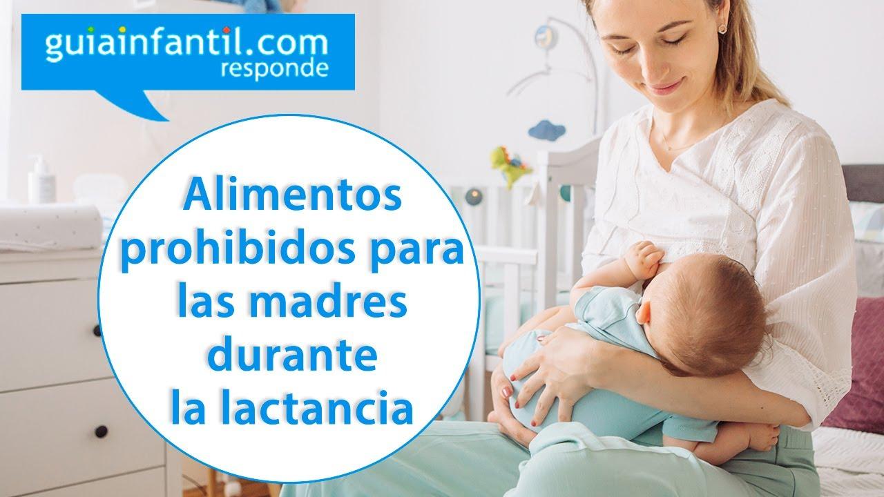 ¿Hay alimentos prohibidos para las madres durante la lactancia materna? | Guiainfantil responde