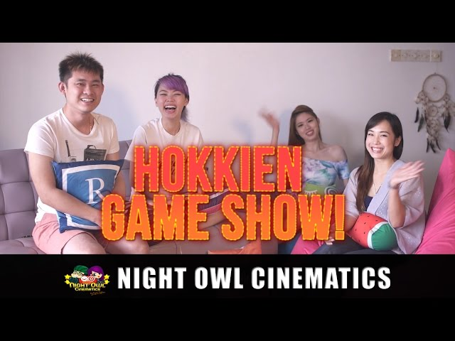 Mr Wong's Hokkien Word of the Day Ep 7: Game Show!
