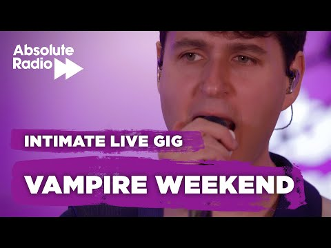 Vampire Weekend - Sunflower (Live) - Absolute Radio