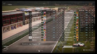 First Superstars Nations Cup Race with 13 S-ranks - GT Sport
