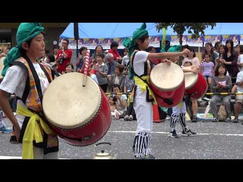 和光鶴川小学校/浄運寺会場/フェスタまちだ2015~町田エイサー祭り~