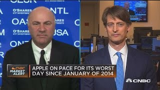 Apple should give out all the data investors want all the time: Kevin O'Leary
