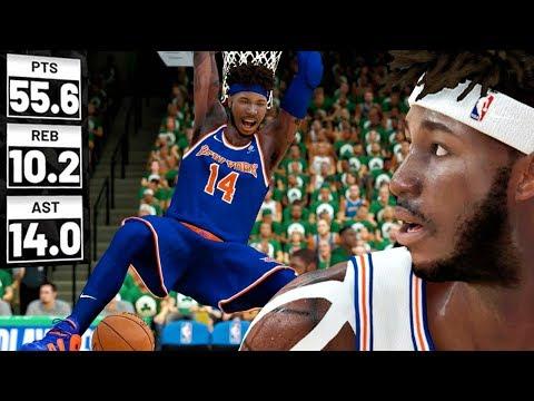 CRAZY DUNKS vs Celtics In Playoffs Game 1! NBA 2K19 My Career Gameplay