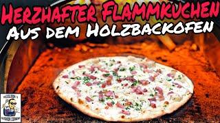 #267 - Flammkuchen aus dem Holzbackofen / Steinbackofen / Pizzaofen