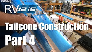 RV Aircraft Video - RV-12iS Tailcone Construction Part 4