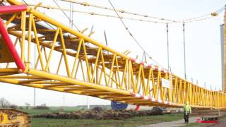 Boom Booster Kit for Superlift 3800 - Erecting wind turbines