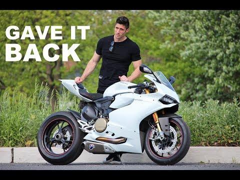 Returning My Dream Bike - Ducati Panigale 1199 S