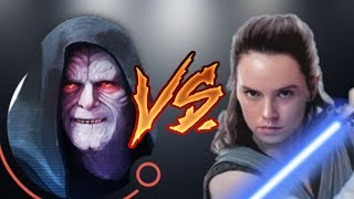 Zeta Palpatine VS Rey Arena Testing   Star Wars: Galaxy Of Heroes - SWGOH