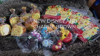 New Disney and Charlie Brown Squishies! | CharmsLOL
