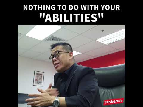 Nothing to do with your Abilities