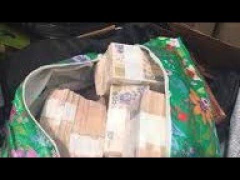 Breaking: EFCC recovers money in 4Ghana-must-gobags in INEC office
