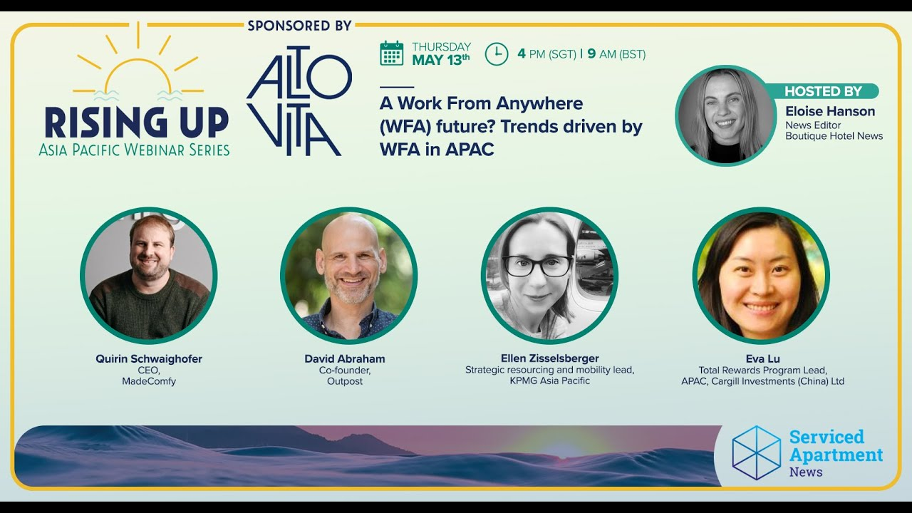 Rising Up APAC webinar 3: A work-from-anywhere future