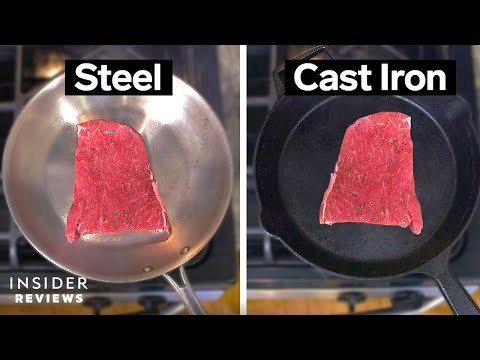 Find Out Which Is Better - Cast Iron or Stainless Steel