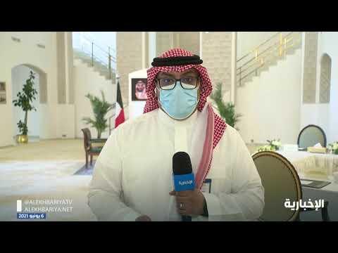 مباحثات رسمية بين وزير الخارجية والشيخ أحمد الصباح