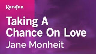 Karaoke Taking A Chance On Love - Jane Monheit *