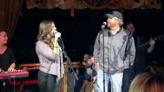 Krystal Keith & Toby Keith sing Cabo San Lucas LIVE