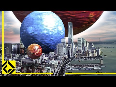 VFX Artist Reveals the True Scale of the Universe - YouTube