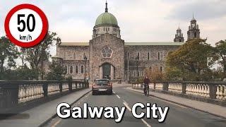 Dash Cam Ireland - Eyre Square, Galway City