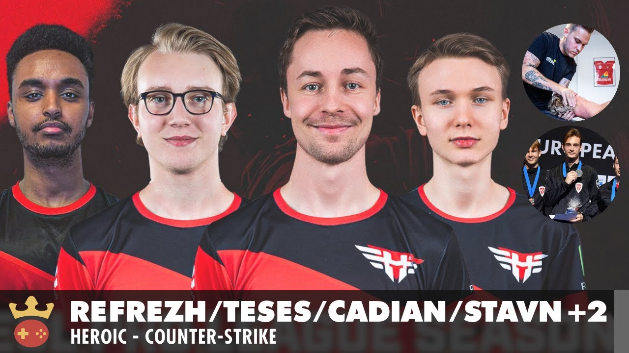 Video of Interview with cadiaN, TeSeS, refrezh, stavn, Troels Robl, and Kasper Straube from Heroic at IEM Cologne 2021