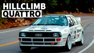 Hillclimb-Spec Widebody Audi Quattro is Pikes Peak Perfection