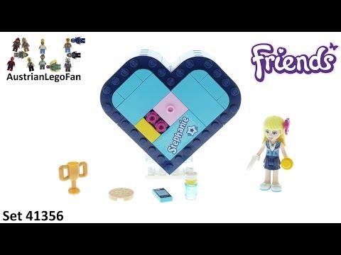 Vidéo LEGO Friends 41356 : La boîte cœur de Stéphanie