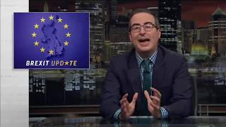 John Oliver, Brexit update, Unicorns +++
