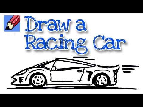 Racing Cars Racing Cars Easy To Draw