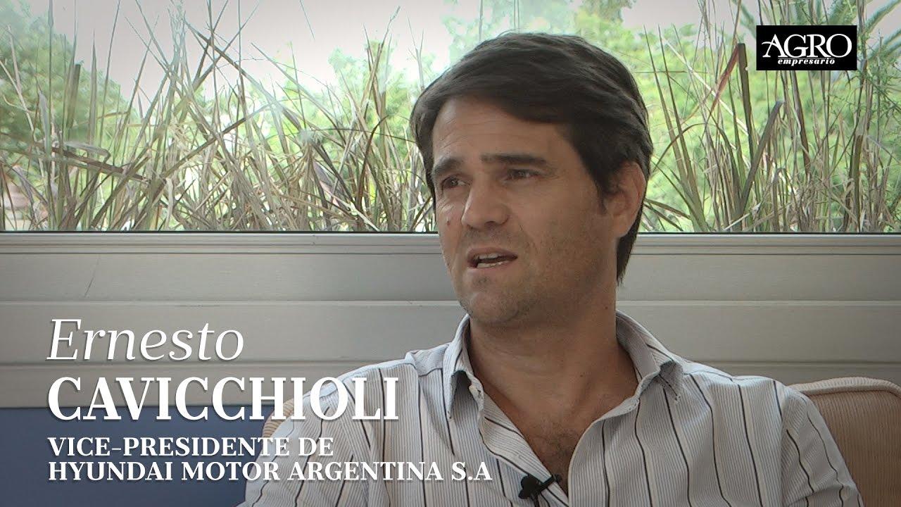 Ernesto Cavicchioli - Vicepresidente de Hyundai Motor Argentina S.A